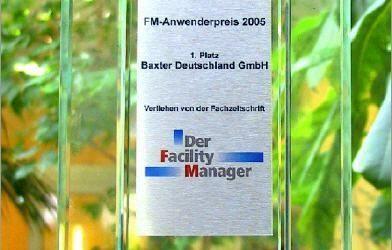 Facility Management Preis 2005